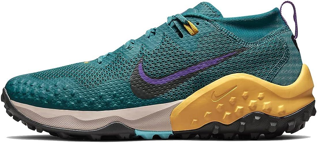 Max 76% OFF Nike Men's Wildhorse 7 CZ1856-300 outlet Grey Teal Gold