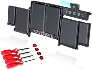 BRTONG 95Wh Laptop Battery for MacBook Pro 15 A1494 A1398 Retina Li-Polymer 11.26V 95Wh//8440mAh ME293 ME294 with Screwdrivers Late 2013 and Mid 2014