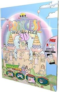 Popar Interactive 3D Book Princess and Her Pals