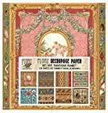Decoupage Paper Pack Baroque Laces and Frames FLONZ Vintage Styled