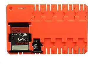 BANDC Red Micro SD/SDHC/SDXC Card Storage holder case