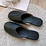 Esercizio Scollato,Slipper Uomo e Donna Slip Home Skin Pantofole-Nero_26#,Pantofole da Esterno