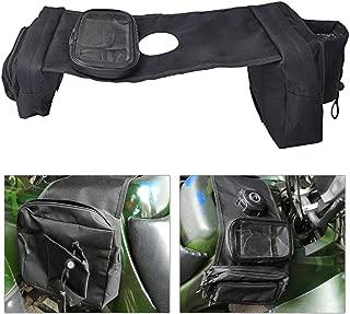 GESECRET Motorcycle Saddlebag ATV Fuel Tank Bag Mobile Cup Holder for UTV Yamaha Kawasaki Scooter Snowmobile