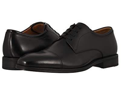 Florsheim Amelio Cap Toe Oxford (Black Smooth) Men