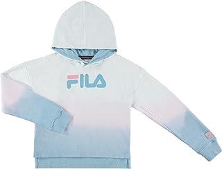 Fila Heritage Girls Fleece Hooded Sweatshirt Big Girls Kids Clothes