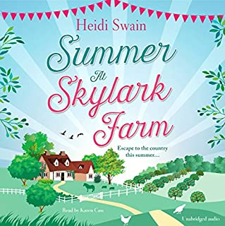 Summer at Skylark Farm                   By:                                                                                                                                 Heidi Swain                               Narrated by:                                                                                                                                 Karen Cass                      Length: 11 hrs and 3 mins     57 ratings     Overall 4.7