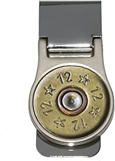 12 Gauge Spent Shell Bullet Ammo Gun Money Clip (Image Only - Not a Real Bullet)