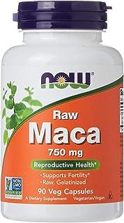 NOW Maca 750 mg, 90 Veg Capsules