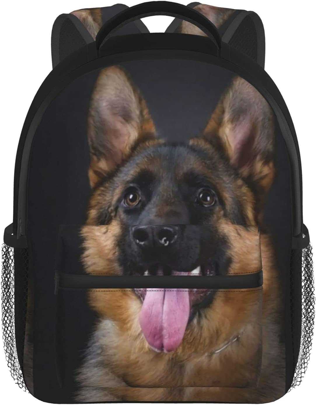 German Shepherd Ranking TOP10 Large School Book Backpack Mini Outlet sale feature Small