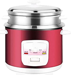 304 Stainless Steel Rice Cooker Old-Fashioned Household 2-3-4-5L Person Liters Thick Liner Steamer Rice Cooker Automatic C...