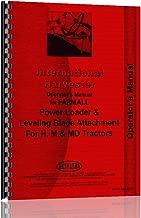 Operators Manual International Farmall H M Tractor Loader & Blade
