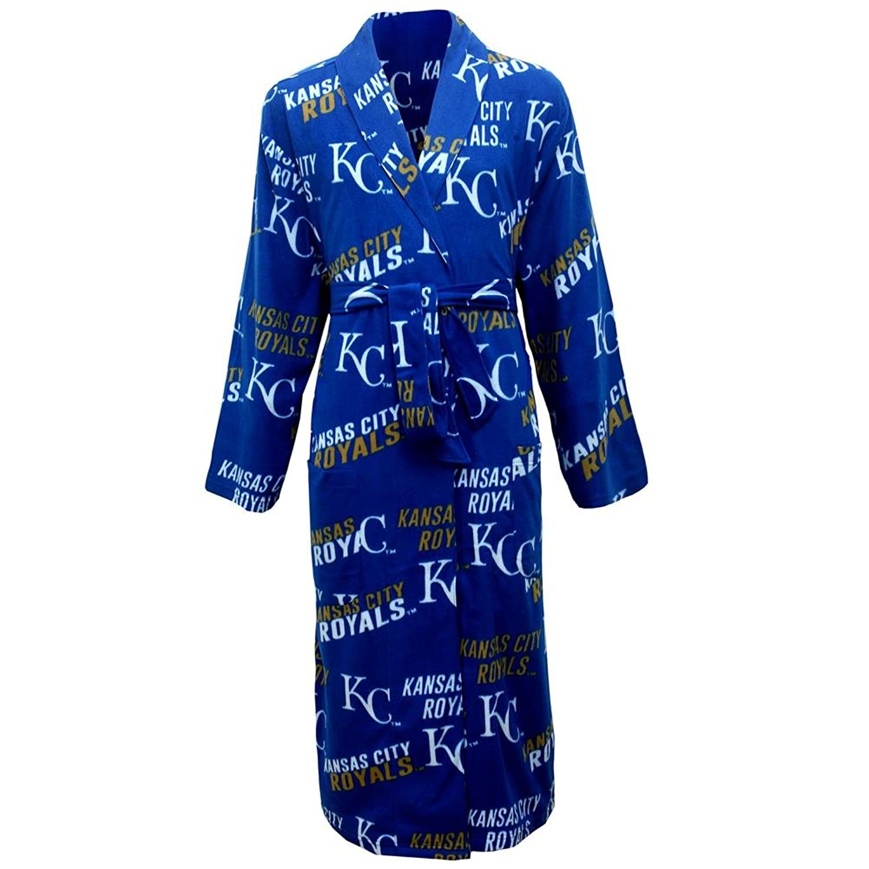 Concept Sports Men's Kansas City Royals Guys Fleece Robe
