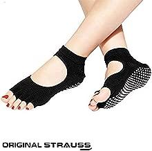 Strauss Yoga Socks, (Black)