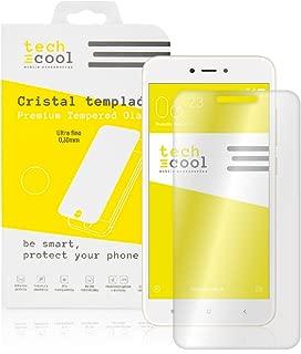 Cristal Templado para Xiaomi Redmi Note 5A / Xiaomi Redmi Note 5A Prime [No Cubre el Borde Biselado] Protector de Pantalla, Calidad HD, Grosor 0,3mm, Alta Resistencia a Golpes 9H: Amazon.es: Electrónica