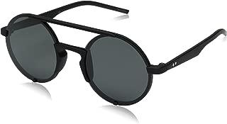 Polaroid Round Black Unisex Sunglasses - PLD 6016/S-DL5-50-Y2-50-20-140 mm
