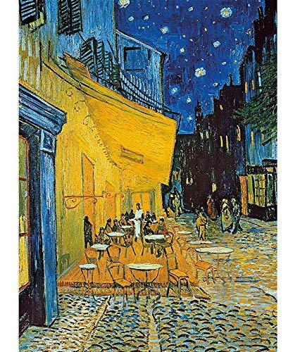 Puzle de 1000 piezas, puzle de Van Gogh, Cafe Terraza por la noche, puzle de 1000 piezas para adultos y niños a partir de 8 años, puzle Jigsaw Puzzle pedagógico de liberación de estrés juguete