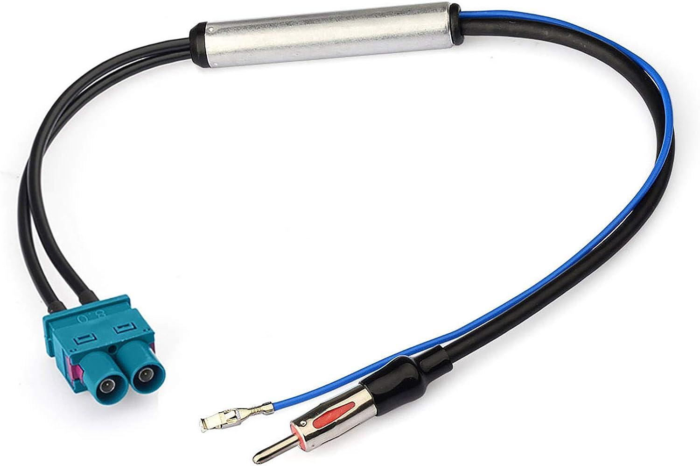 Bingfu Car Radio Antenna Signal Amplifier Double Fakra Elektronik
