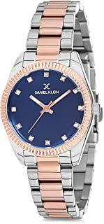 Daniel Klein Womens Quartz Watch, Analog Display and Stainless Steel Strap - DK12180-7