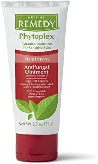 Medline MSC092625 Remedy Phytoplex Antifungal Ointment, 2.5 oz, Clear (Pack of 12)