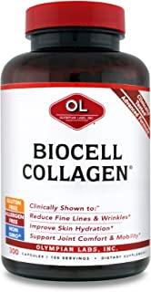 Olympian Labs Biocell Collagen 1500mg, 300ct