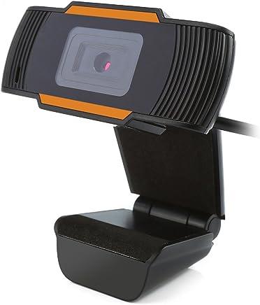 PC web camera, 12.0MP webcam USB registrazione video HD 10m integrato Mic microfono per computer portatile di YouTube, Skype, MSN messa a fuoco automatica 30gradi rotazione Plug-and-Play - Trova i prezzi più bassi