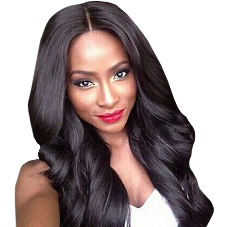 アッティカスカートリッジ公平なKoloeplf 前髪と高温シルクの長い巻き毛女性のための人工毛