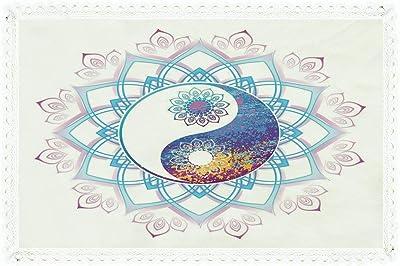 """Beautiful! FRETTE Armatura Raso Salice Half Tone 71/"""" x 71/"""" Square Tablecloth"""