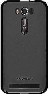 AMZER Pudding TPU Soft Gel Skin Case for Asus Zenfone 2 Laser ZE500KL (5.0 Inch), Asus Zenfone 2 Laser ZE500KG - Retail Packaging - Black (Renewed)