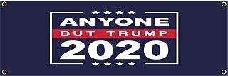 egeek amz Anyone But Trump 2020 36 x 12 inch Banner (Outdoor, Weatherproof) with Brass Grommets
