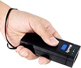 Alacrity Portable 1D Laser BTWireless Barcode Scanner,Handheld Mini Barcode Reader for Windows,Android,iOS,Mac