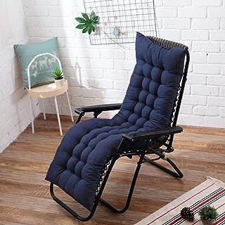 Seat Cushion New Soft Long Cushion Garden Lounger Cushion Thicken Foldable Rocking Chair Cushion Long Chair Couch Seat Cus...