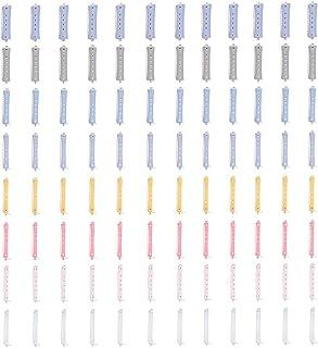 96 قطعة من بكرات تمويج الشعر المجدولة في صالونات التجميل من نيشور - أداة تصفيف الشعر ذات الحجم المختلط