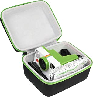 Khanka Hårt fodral för polaroid nu/polaroid original One Steg 2/OneStep+ plus I-Type View Finder Instant Camera (Grön)