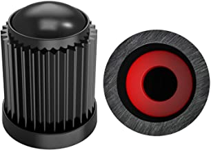 7haofang 4 Pcs//Set Eyeball Motocycle Bicycle Car Wheel Tire Caps Valve Air Stem Cover