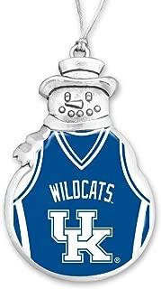 FTH Kentucky Wildcats Basketball Snowman Christmas Ornament