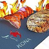 Kona XL Best Grill Mat - BBQ Grill Mat Covers The Entire Grill - Premium Non-Stick 25'x17'