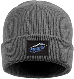 Man's Women Busch Light Beer Logo Beanie Hat Fashion Knit Caps Suitable for Winter Walking