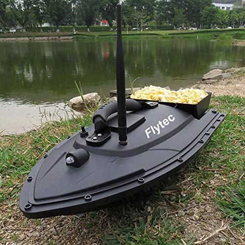 QTSR RC Ferngesteuertes Baitboat Boot,ABS-Material Doppelmotor Rumpf Starke Ausdauer, geräuscharm, geringer Energieverbrauch für Anfänger und Kinder