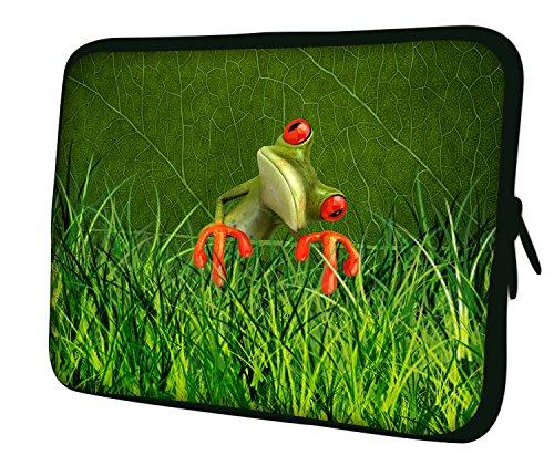 Luxburg® 10 Zoll Notebooktasche Laptoptasche Tasche aus Neopren Schutzhülle Sleeve für Laptop/Notebook Computer