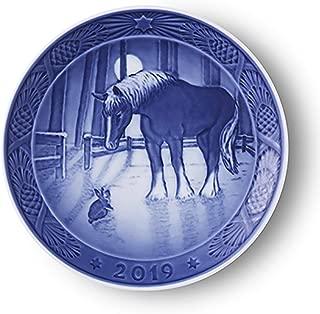 royal copenhagen christmas plates value
