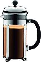 Bodum Australia Pty Coffee Maker French Press, Chrome, 1928-16, Silver, 34 oz