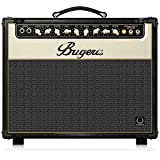 BUGERA V22-INFINIUM 22-Watt Vintage 2-Channel Combo with Infinium Tube Life Multiplier Brown & Cream, (V22INFINIUM)