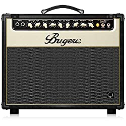 BUGERA V22-INFINIUM 22-Watt Vintage 2-Channel Combo with Infinium Tube Life Multiplier Brown & Cream