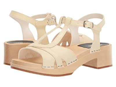 Swedish Hasbeens Ulla Low (Creamy White) Women