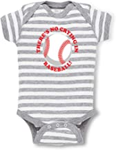 There is No Crying in Baseball! Boys-Girls Cotton Baby Bodysuit One Piece