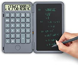 $48 » Calculator Calculator Desktop Type-c USB Charging Port Basic Calculator with Writing Tablet Daily and Basic Office (Color...