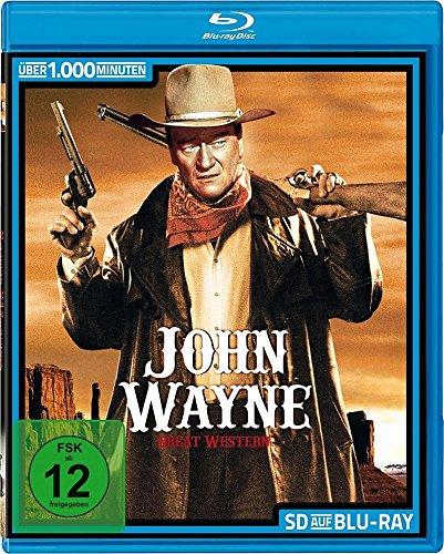 JOHN WAYNE - 32 Great Western - frühe Klassiker Collection SD on Blu-Ray