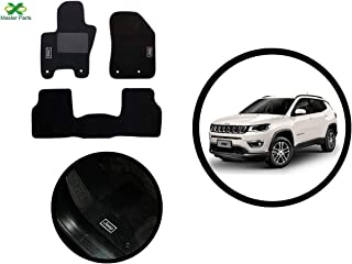 Kit Tapete Jeep Compass 2017 2018 2019 2020 2021 Carpete Luxo