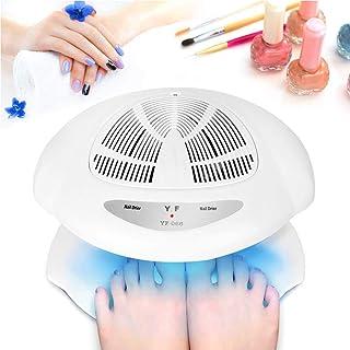 WFWPY 40W Gel Esmalte de Uñas Lámpara de Curado Ventilador Secador de uñas Frío y Caliente Secador de uñas,Automático Nails Ventilador de Secado de manicura con Aire frío y Caliente