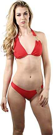 08c3cba7e9db4 FITXATION Goddess UNI Red Bikini Swimsuits